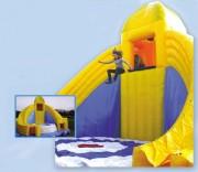 Chute libre jeu d'enfant gonflable en plein air - Dimensions : longueur 12,0m x largeur 12,0m x hauteur 8,50m