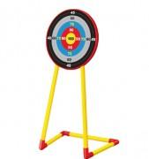 Cible archerie en plastique pour enfant - Dimensions (H x L x P) cm : 150.5 x 54.5 x 41.5