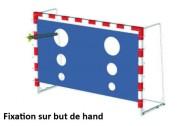Cible de lancer pour enfants - Dimensions : L 3 x l 1.6 m