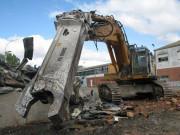Cisaille démolition à acier pour pelle chantier 1 à 310 tonnes - Cisailles à système de guidage ad hoc