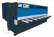 Cisaille guillotine à réglage hydraulique - Possibilité de programmer jusqu'à 100 étapes