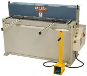 Cisaille guillotine hydraulique avec presses-tôle - Cisaille hydroélectrique longueur de coupe maxi 1320 mm
