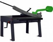 Cisaille manuelle à balancier pour atelier - Capacité de coupe des tôles : 1000 x 1,6 mm
