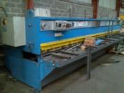 Cisailles à guillotine à actionnement hydraulique - COLLY type GTS6002