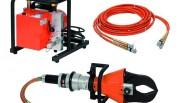 Cisailles hydrauliques - Lames pour câbles avec un guidage spécial