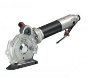 Ciseau pneumatique à lame circulaire - Application : Textile, Textile technique  - Vitesse de coupe : 900 tr/min