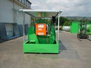 Citerne fuel en acier - Capacité : 5000 à 15000 litres