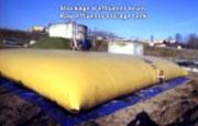 Citerne souple boues d'épuration 200 m3 - Stockage de boues d'epuration, citernes souples