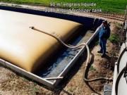Citerne souple engrais - Cuve fermée de 80 m3
