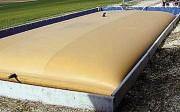 Citerne souple sur muret - Pour cuve : de 25 m3 à 200 m3 - Muret : de 0.7 m à 1.2 m