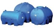 Citernes de stockage horizontales - Cuve polyéthylène : Capacité (L) : de 300 à 5000