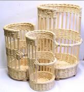 Claie pain ronde en osier - Diamètres disponibles (cm) : 15 - 30 - 40