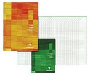 CLAIREFONTAINE Carnet de notes des professeurs reliure piqûre 21x29,7 cm 44 pages - Clairefontaine