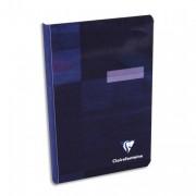 CLAIREFONTAINE Carnet reliure brochure 11x17 cm 192 pages petits carreaux papier 90g - Clairefontaine