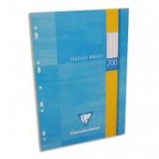 CLAIREFONTAINE Feuillets mobiles 21x29,7 cm 60 pages dessin blancs 125g – Sous étuis carton - Clairefontaine