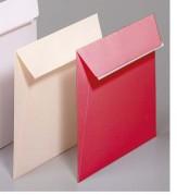 CLAIREFONTAINE Paquet de 20 enveloppes POLLEN format 165x165 mm coloris ivoire référence 5443. - GPV