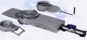 Clapet de fermeture pour silo avec course sur roulement à billes diam 300 mm