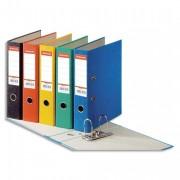 Classeur à levier papier couleur Rainbow dos de 8 cm bleu - Esselte