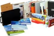 Classeur de documentation personnalisé - PVC ou Polypropylènes
