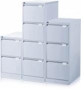 Classeurs a tiroirs monobloc - Format A4 (L x P): 41,3 x 62,2 cm ou foolscape (L x P): 47 x 62,2 cm