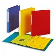 Classeurs en carte lustrée 7/10e à 2 anneaux de 25 mm coloris assortis - Elba