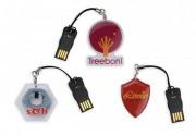 Clé USB avec FlexTag - Capacité : De 1 à 32 Go