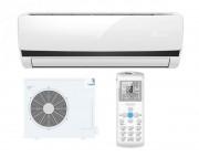 Climatiseur avec kit de pose 100% cuivre - Climatiseur réversible - Capacité de chauffage : 1.7-3.5-3.7 kW