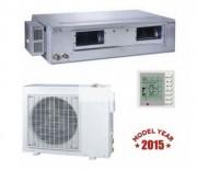 Climatiseur réversible gainable - Puissance refroidissement / réchauffement : 5.0 / 5.6 kW
