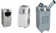 Climatiseur sur roulettes - Puissance froid : de 2350 à 5000 W - Système frigorigène