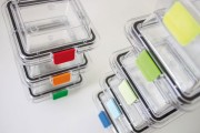Clip boite membrane - Sachet de 10 clips de même couleur