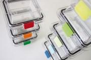 Clip pour boite à membrane - Par lot de 10 clip de même couleur