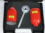 Cloche de sécurité chlore gazeux - Confinement de fuites de chlore sur une bouteille de chlore