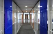 Cloison acoustique bureau épaisseur 100 mm - Epaisseur : 100 mm