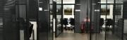 Cloison aluminium modulable - Cloison vitrée, simple ou double vitrage