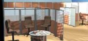 Cloison amovible de bureau 1200 x 1600 mm - Dimensions (L x H) mm : De 800 x 1400 à 1200 x 1600