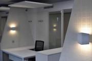 Cloison bureau acoustique métallique - En tôle métallique