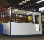 Cloison bureau industriel