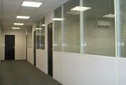 Cloison bureau semi vitré