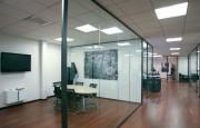 Cloison bureau vitré - Epaisseur : 40 mm