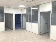 Cloison de bureau à isolation phonique - Possibilité d'isolation phonique renforcée
