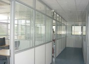 Cloison de bureau avec store intégré - Store intégré de bureau