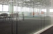 Cloison de bureau vitrée - Double vitrage - Conforme au DTU 35.1