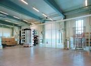 Cloison grillagée industrielle 1500 x 750 m
