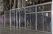 Cloison industrielle grillagée - Pour délimiter vos zones de stockage