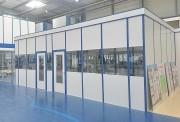 Cloison mélaminée de bureaux - Hauteur : 1,70m, 2,50m ou 3 m