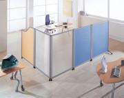 Cloison mobile bureau - Toutes dimensions et coloris possibles
