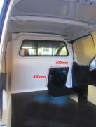 Cloison polyester pour Peugeot Boxer - En Polyester - Pour Peugeot Boxer