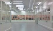 Cloison salle blanche - Sous atmosphère contrôlée en classe ISO 6