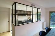 Cloison semi vitrée - Simple ou double vitrage
