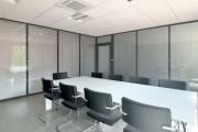 Cloison vitrée bureau - Ossature aluminium naturel ou laquée -Simple ou double vitrage